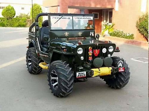 Ks Motors Mandi Dabwali Modified Jeeps In Mandi Dabwali