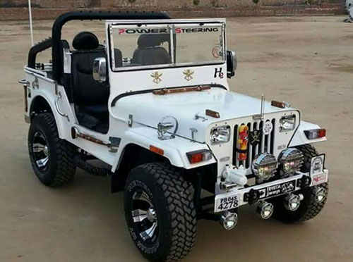 KS Motors Mandi Dabwali – Modified jeeps in Mandi Dabwali, Open jeep